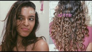 Straight to Curly Routine! How to get your curls back | Kat Alexandra