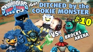 Ditched by the Cookie Monster! Pet Vac & LBW (Us vs. Brock Part 10 w/ Chase | Skylanders Trap Team)