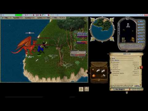 Let's Play Ultima Online Forever.  Getting not 1 but TWO DRAGONS!