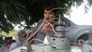 Generatorจากมอเตอร์เครื่องซักผ้า hitachi