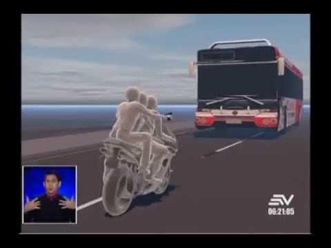 Tres asaltantes mueren atropellados por bus