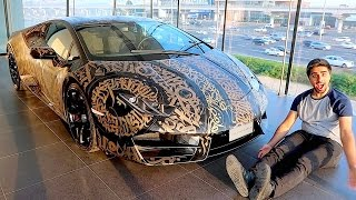 NEW LAMBORGHINI WRAP !!!