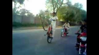 Saim Ali Pirmahal Cycle Wheeling