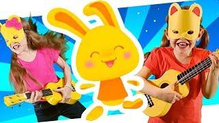 Bim Bam Boum - La danse de la guitare pour les enfants - Comptines pour bébés - Titounis