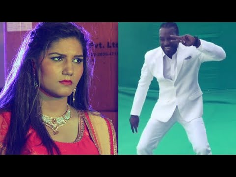Xxx Mp4 Sapna Choudhary's Oops Moment Chris Gayle Was Dancing To Sunny Leone's Song Not Hers SpotboyE 3gp Sex
