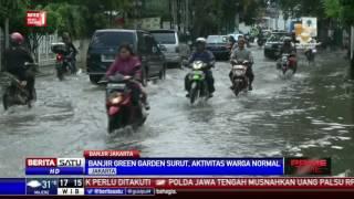 Banjir di Perumahan Green Garden Mulai Surut