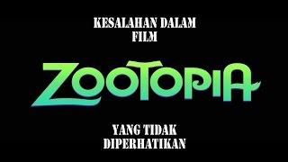 Kesalahan Dalam Film Zootopia (2016) Yang Tidak Diperhatikan