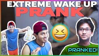 Extreme wakeup prank Ft. Sayed Zaman Shawon |d knockers