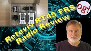Retevis RT45 FRS Radio Review (#162)