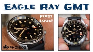 Phoibos Eagle Ray GMT First Look - One Hell of a Travel Watch!