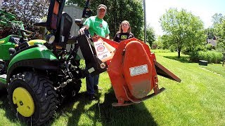 Increase 3 Pt Hitch Lift Height for John Deere 1025R Compact Tractor