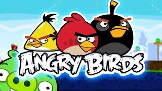 🐦ANGRY BIRDS 🐷   COLLECTING ALL THE STARS ⭐️⭐️⭐️