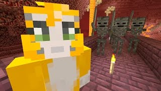 Minecraft Xbox - Cave Den - Wither Skull Race (77)