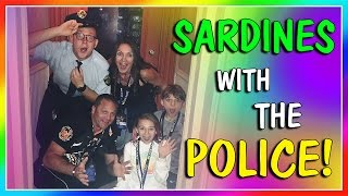 SARDINES WITH THE POLICE!   HIDE AND SEEK   We Are The Davises