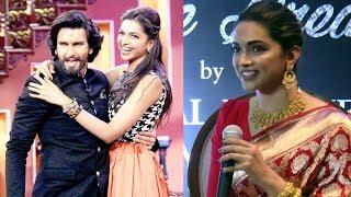 Deepika Padukone On Her Relationship With Boyfriend Ranveer Singh