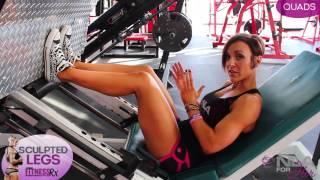 Sculpted Legs Video 1 - Quad Training
