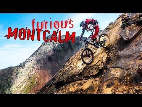 FURIOUS MONTCALM - VTT extreme, freeride, DH, Ariège, Pyrénées, massif du Pic d'Estat