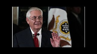 NEWS     Rex Tillerson is said to get a swipe at President Trump in his starting remarks