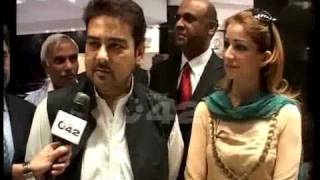 Adnan Sami Khan with Wife Zoha(Lahore's First Visit) - Kazim Rizvi