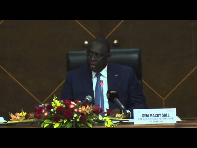 Président Macky Sall: le PSE en phase pratique