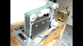 make a 2 x 72 belt sander/grinder