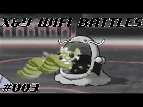 Pokemon X and Y Wifi Battle #003 Vs. CloudsLiberation - THAT SWALOT IS OP!