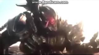 Transformers 5 Megatron vs Hound Full fight