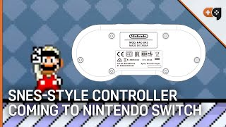 SNES-Style Controller Coming To Nintendo Switch