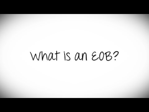 What is an EOB?