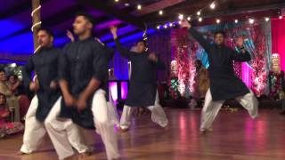 Omar and Aysha's Mehndi Dance: Tier One Bhangra