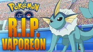 R.I.P. VAPOREON! Massive Pokemon GO Update