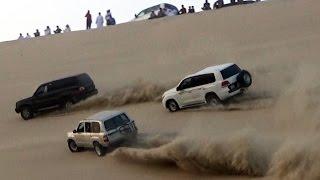 تطعيس في العديد 04/11/2016  - Dune Bashing in Qatar