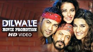 DILWALE [ दिलवाले ] HD Hindi Movie 2015 SRK, Kajol, Varun Dhawan, Kriti Sanon | Full Promotion Video