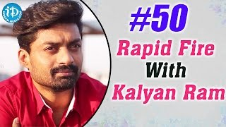 Hashtag #50    Rapid Fire With Kalyan Ram    Talking Movies with iDream
