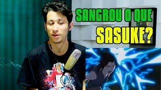 REACT Goku e Vegeta VS. Naruto e Sasuke | Duelo de Titãs (7 Minutoz)