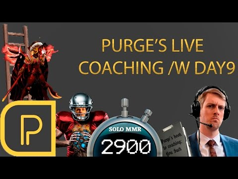 Live Coaching Day9 ~2900 MMR Legion Commander
