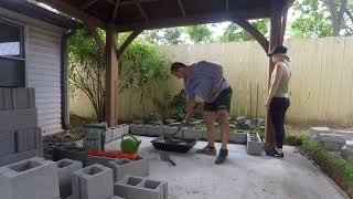 My Affordable Patio Project  DIY Pompeii Wood Fired Pizza Oven, Gazebo, and More