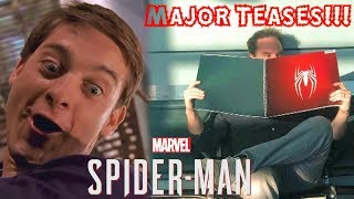 MAJOR SPIDER-MAN PS4 TEASES FROM INSOMNIAC GAMES!!! NEW SPIDER SYMBOL, MOCAP FINISHED, & MORE!!!