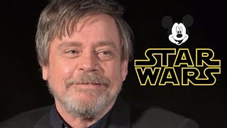 Proof that Mark Hamill is NOT Happy with DISNEY