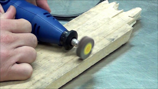 Rotary Tool with 210 Pieces - Drill engrave sand polish cut