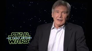 STAR WARS: Harrison Ford on Keeping Secrets for THE FORCE AWAKENS