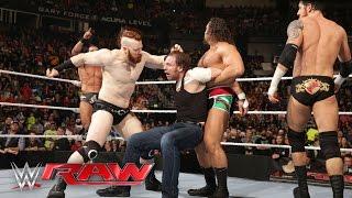 Dean Ambrose vs. Alberto Del Rio: Raw, Februry 29, 2016