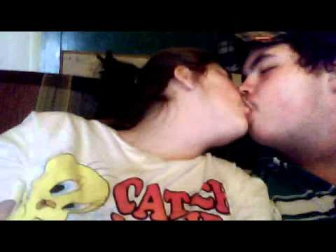 sexy boy and girl kissing