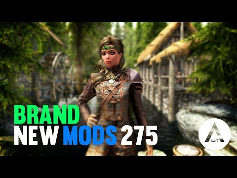 5 Brand New Console Mods 275 - Skyrim Special Edition (PS4/XB1/PC)
