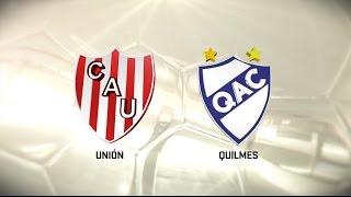 Fútbol en vivo. Unión vs. Quilmes. Fecha 6. Torneo de Primera División 2016/2017. FPT
