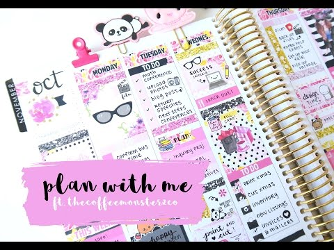 Plan With Me Girl Boss ft. TheCoffeeMonsterzCo