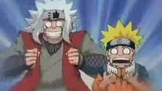 Jyraia e Naruto taradões
