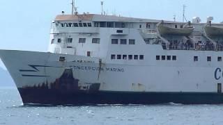 Ferry Concepción Mariño llegando a Puerto La Cruz.