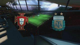 2014 FIFA World Cup Brazil - Portugal vs Argentina - [HD FULL Gameplay]