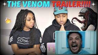 """VENOM"" - Official Teaser Trailer REACTION!!!"